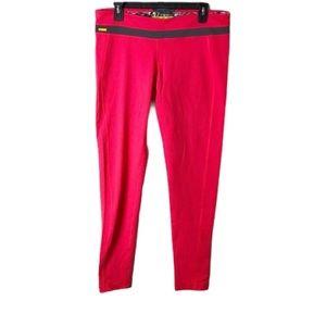 Lolë exercise yoga leggings pink extra large